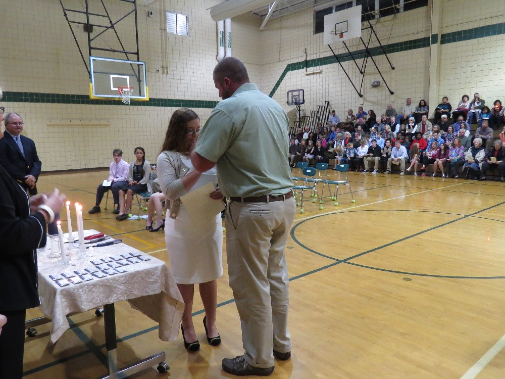 2014-2015 NJHS Induction Ceremony