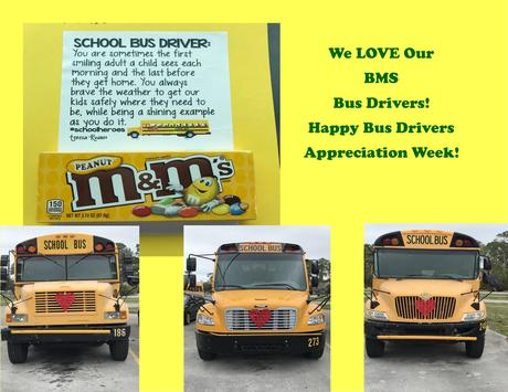 Happy Bus Drivers Appreciation Week